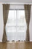 Κουρτίνα παραθύρων Στοκ Εικόνες