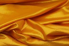κουρτίνα χρυσή Στοκ φωτογραφία με δικαίωμα ελεύθερης χρήσης