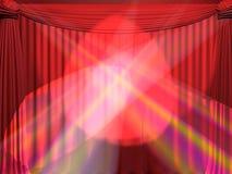κουρτίνα διανυσματική απεικόνιση
