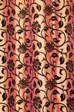 κουρτίνα floral Στοκ Εικόνες