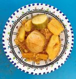 Κουσκούς με τα λαχανικά Στοκ Εικόνες