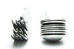 κουτάλια δικράνων Στοκ Φωτογραφία