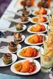 κουτάλια πρόχειρων φαγητών θαλασσινών στοκ φωτογραφίες με δικαίωμα ελεύθερης χρήσης