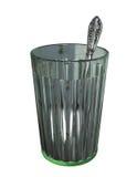 κουτάλι γυαλιού Στοκ Εικόνα