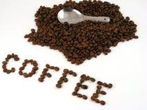 κουτάλι καφέ 2 Στοκ εικόνες με δικαίωμα ελεύθερης χρήσης