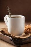 Κουτάλι καφέ Στοκ Φωτογραφία