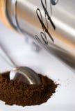 κουτάλι καφέ Στοκ Εικόνες