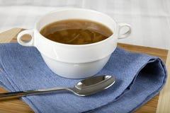κουτάλι σούπας κρεμμυδ&i Στοκ εικόνες με δικαίωμα ελεύθερης χρήσης