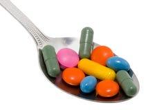 κουτάλι φαρμάκων Στοκ φωτογραφίες με δικαίωμα ελεύθερης χρήσης