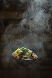 Κουτάλα της παχιάς σούπας Στοκ φωτογραφία με δικαίωμα ελεύθερης χρήσης