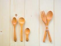 κουτάλια ξύλινα Στοκ φωτογραφία με δικαίωμα ελεύθερης χρήσης