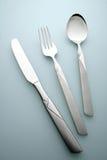Κουτάλι και μαχαίρι δικράνων Στοκ εικόνες με δικαίωμα ελεύθερης χρήσης