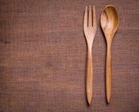 κουτάλι ξύλινο Στοκ εικόνες με δικαίωμα ελεύθερης χρήσης