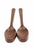 Κουτάλι σοκολάτας Στοκ Εικόνες