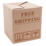 Κουτί από χαρτόνι Στοκ Εικόνα