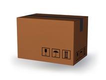 Κουτί από χαρτόνι Στοκ φωτογραφία με δικαίωμα ελεύθερης χρήσης