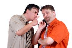 κουτσομπολιό συνωμοσί&al Στοκ Φωτογραφίες