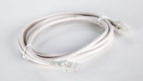 Κουλουριασμένο καλώδιο USB Στοκ Φωτογραφίες