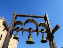 Κουδούνια εκκλησιών σε Podil, Kyiv, Ουκρανία Στοκ Εικόνα