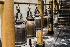 Κουδούνια ναών σε Doi Suthep Στοκ φωτογραφία με δικαίωμα ελεύθερης χρήσης
