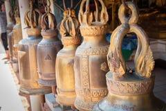 Κουδούνια του ναού doicum στο chaingmai, Ταϊλάνδη Στοκ Εικόνες