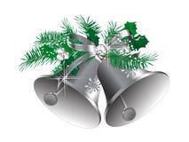 Κουδούνια Χριστουγέννων διανυσματική απεικόνιση