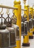 κουδούνια χρυσά Στοκ Φωτογραφίες