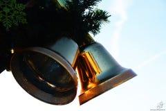 κουδούνια δύο Στοκ φωτογραφίες με δικαίωμα ελεύθερης χρήσης