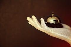 Κουδούνι δαχτυλιδιών Στοκ φωτογραφία με δικαίωμα ελεύθερης χρήσης