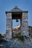 Κουδούνι εκκλησιών Nafplio στοκ εικόνα με δικαίωμα ελεύθερης χρήσης