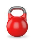 Κουδούνι κατσαρολών βάρους εξοπλισμού γυμναστικής που απομονώνεται ελεύθερη απεικόνιση δικαιώματος