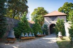 Κουδούνι κοντά στη βασιλική του ST Adalbert σε Esztergom Στοκ εικόνες με δικαίωμα ελεύθερης χρήσης