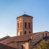 Κουδούνι πύργων της καθολικής εκκλησίας Στοκ Εικόνες