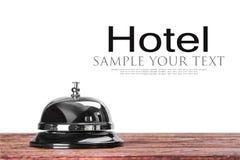 Κουδούνι στην υποδοχή στο ξενοδοχείο ή το ιατρικό νοσοκομείο Στοκ φωτογραφία με δικαίωμα ελεύθερης χρήσης