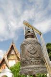 Κουδούνι στο ναό βουδισμού Στοκ Εικόνες