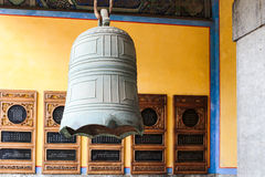 Κουδούνι στο ναό Κομφουκίου στοκ φωτογραφίες
