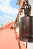 Κουδούνι στο ναό της Ασίας Στοκ Εικόνες