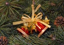 Κουδούνι Χριστουγέννων Στοκ φωτογραφία με δικαίωμα ελεύθερης χρήσης