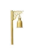 κουδούνι χρυσό Στοκ Εικόνες