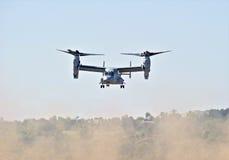 Κουδούνι Boeing MV-22 κλίνοντος στροφείο αεροσκάφη Osprey στοκ εικόνες