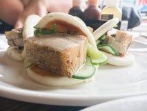 Κουλούρι χοιρινού κρέατος Στοκ εικόνες με δικαίωμα ελεύθερης χρήσης