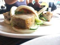Κουλούρι χοιρινού κρέατος Στοκ Φωτογραφίες