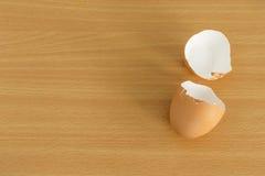 Κοχύλι αυγών που λυγίζεται Στοκ φωτογραφία με δικαίωμα ελεύθερης χρήσης