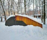 Κοχύλι γκαράζ Στοκ Εικόνες