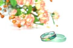 Κοχύλι φυτωρίου και δαχτυλίδι πετρών Στοκ φωτογραφία με δικαίωμα ελεύθερης χρήσης