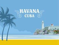 Κούβα Αβάνα ελεύθερη απεικόνιση δικαιώματος