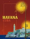 Κούβα Αβάνα απεικόνιση αποθεμάτων