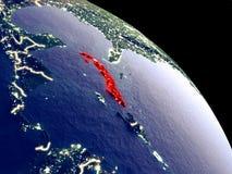 Κούβα από το διάστημα απεικόνιση αποθεμάτων