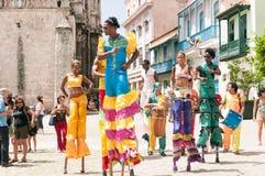 Κούβα - παλαιά Αβάνα Στοκ Εικόνες