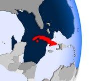 Κούβα στη σφαίρα απεικόνιση αποθεμάτων